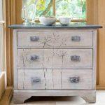 Whitewashed Furniture With Dark Top