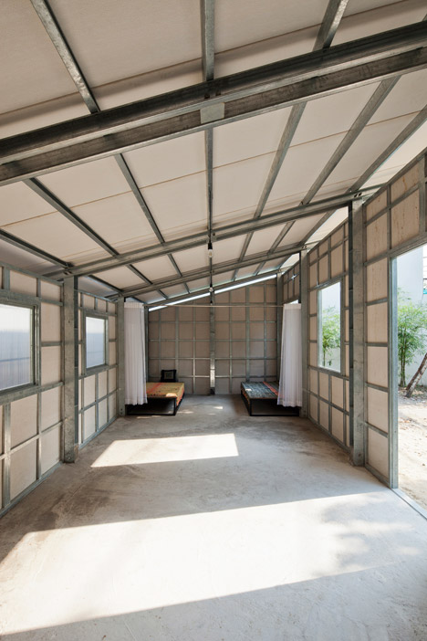 interior part of lightweight steel house