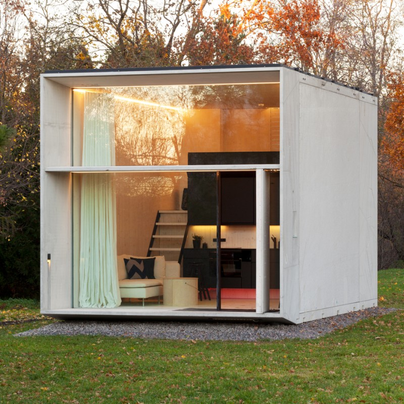 micro home design with multifunctional rooms