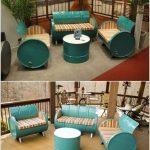Re Used Drum Seats Idea