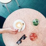 Pink Terrazzo Table