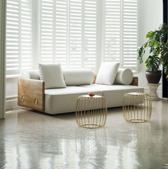 contemporary and unique sofa cage like coffee tables