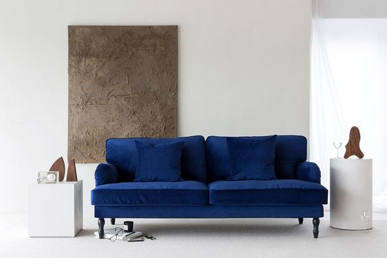 Navy Blue Sofa A Promising Piece To Be Bold Amp Stylish For