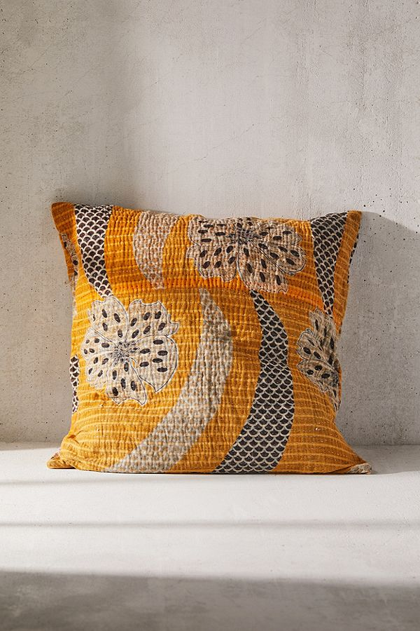 sun washed pillowcase in vintage style