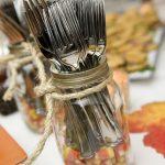 Creative Handmade Dishware Storage Made Of Mason Jar