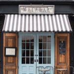 French Front Door Idea In Light Blue