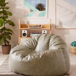 Holden Bean Bag By Urban Outfitters In Gray