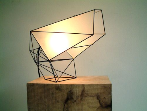 Licht Object lighting fixture with warm light effect