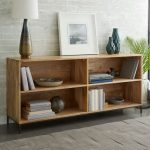 Scandinavian Style Bookcase In Light Wood