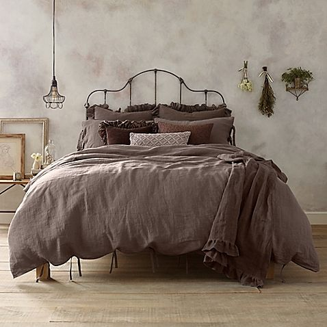vintage bedroom design traditional bed frame with headboard gray bed treatment with vintage duvet some greenery hang pendant