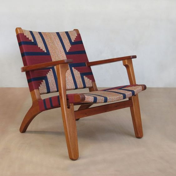 Wayfair's armchair in midcentury modern style