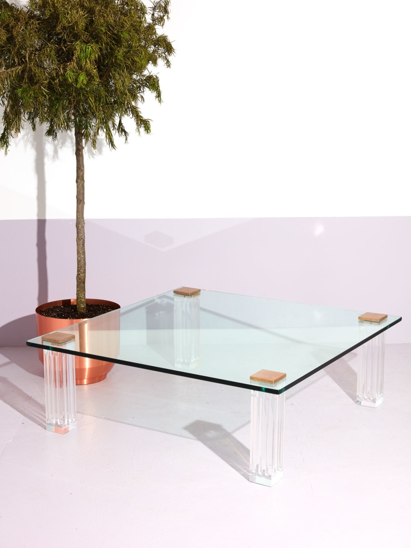 acrylic coffee table by Coming Soon