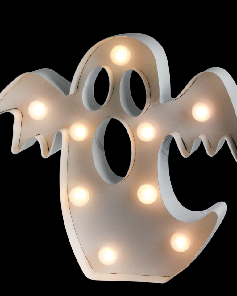 classic ghost marquee light with spotted light additions