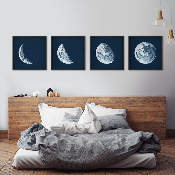 moon walll arts in modern style