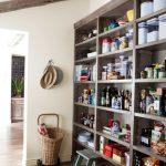 Rustic Storage Solutions Wood Stool As Mini Ladder