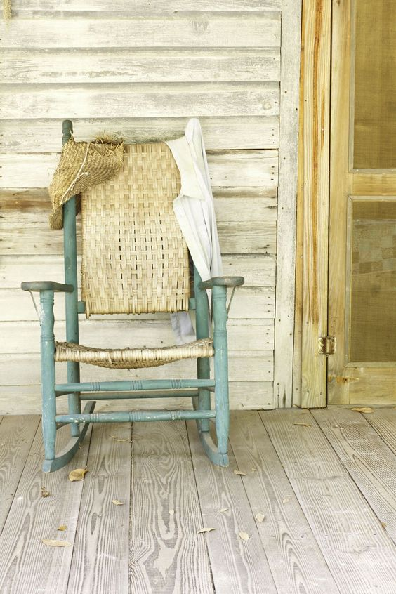 shabby vintage chair