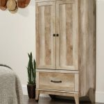 Wood Armoire Without Finish