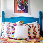 Colorful Bedding Treatment With Floral Prints