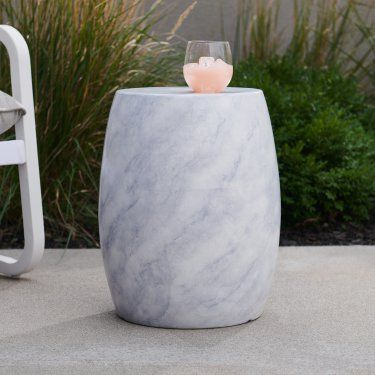 marble stool for indoor and outdoor use