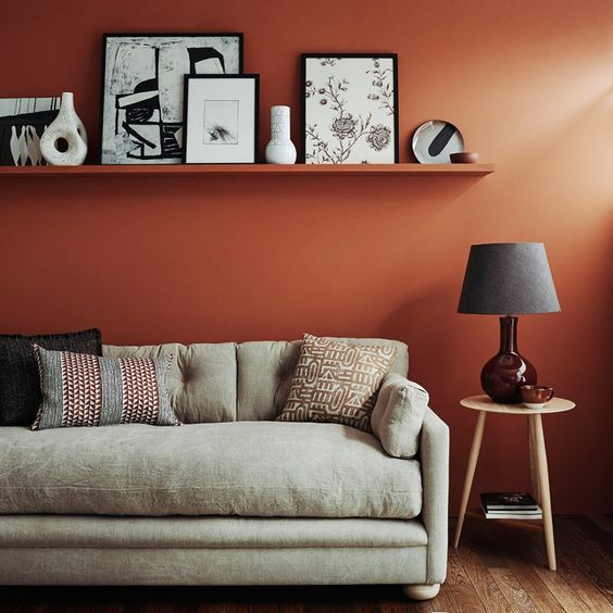 10 Bold Color Recommendations For Earthy Look Walls