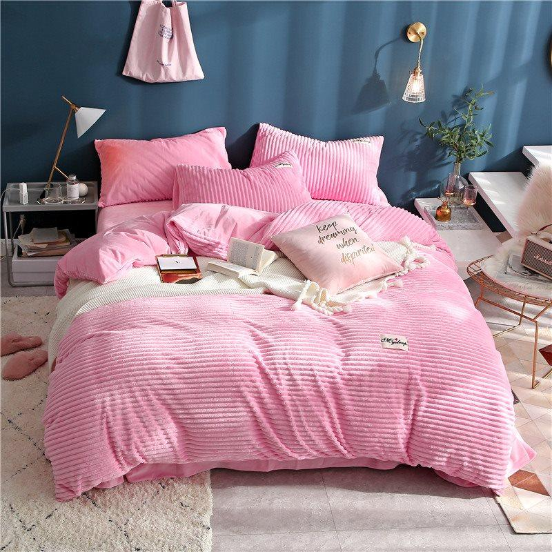 sweet pink duvet cover