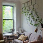 Vertical Indoor Garden Supported With Hexagon Media Planter