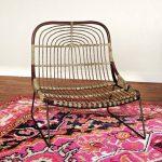 Kawai Lounge Chair With Tiny Metal Legs