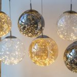 LED Globe Pendants In Various Colors