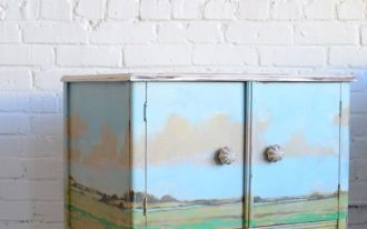 versatile dresser in chic vintage look