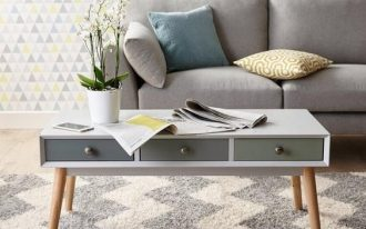Orla capsule coffee table by Ideal Home