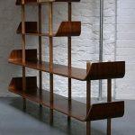 Huge Midcentury Modern Bookshelves For Modern Personal Library