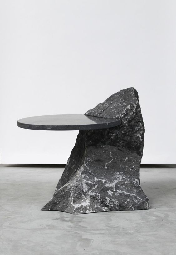 future table combining the stone and conventional table