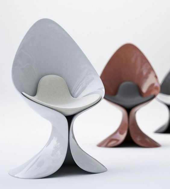 futuristic accent chairs with the most unique design