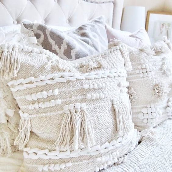 super soft accent pillows with moroccan flare