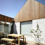 Timber Cladding Finish For Exterior Attic's Wall