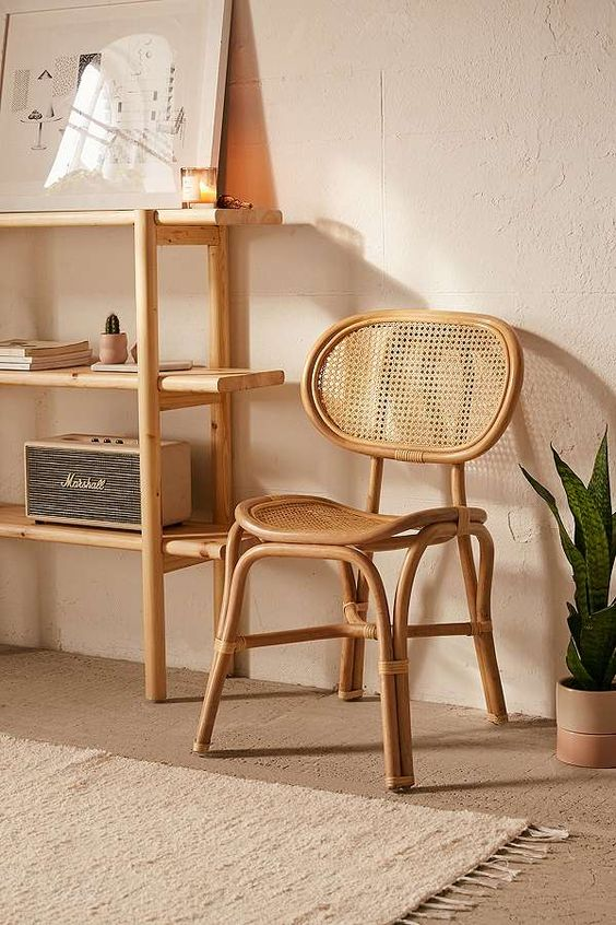 rattan bistro chair by Urban Outfitters