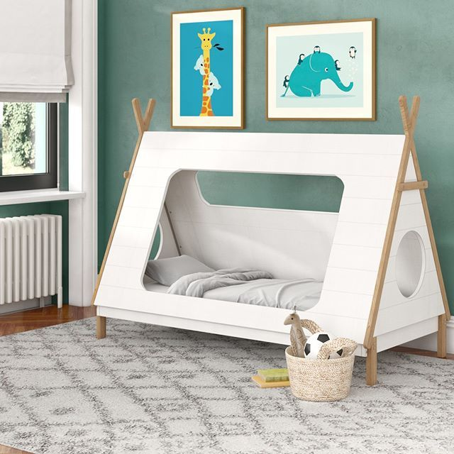 Tepee bed frame by Wayfair UK