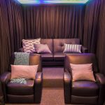 Cool Home Theater In The Basement