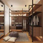 Industrial Style Walk In Design In The Basement