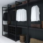 Walk In Closet Idea In The Basement