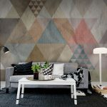 Colorful Quadrangle Wallpaper