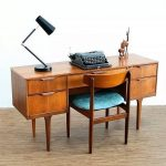Midcentury Modern Home Office Furniture Made From Hardwood