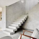 Minimalist Interior With Minimalist Staircase With Railings Minimalist Furniture Set