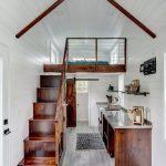 Modern Rustic Loft Design With Rustic Kitchen Design