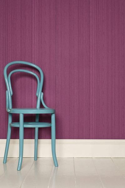 radiant orchid wallpaper blue vintage chair