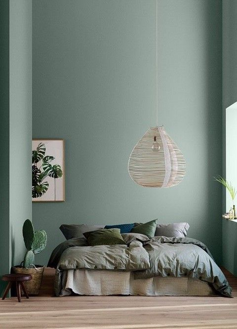 minimalist bedroom design with mute wall paint color stunning pendant gray duvet cover