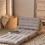 Squishy Floor Cushion In Light Gray