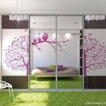 Beautiful Purple Coloration Of Teen Bedroom Decorating Ideas plus Pink Wall Decal In Glass square Sliding Door like Properly Pendant Lamp Including Purple Shades Window As Effectively Inexperienced Grass Carpet Concepts