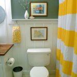 Distinctive Price range Loos Yellow Lavatory Bath Curtain
