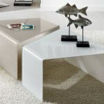 beautiful Fur Rug Beneath As Well White Tile Ground Fascinating Living Room White brown Desk Set Design